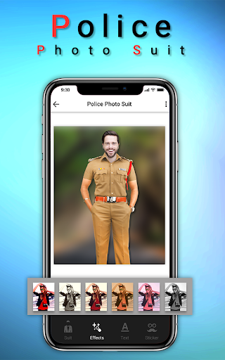 Police Photo Suit : Women & Men Police Pic Editor 1.2 screenshots 2