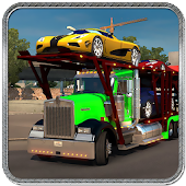 Cargo Truck City Car Transport Simulation Game 3D