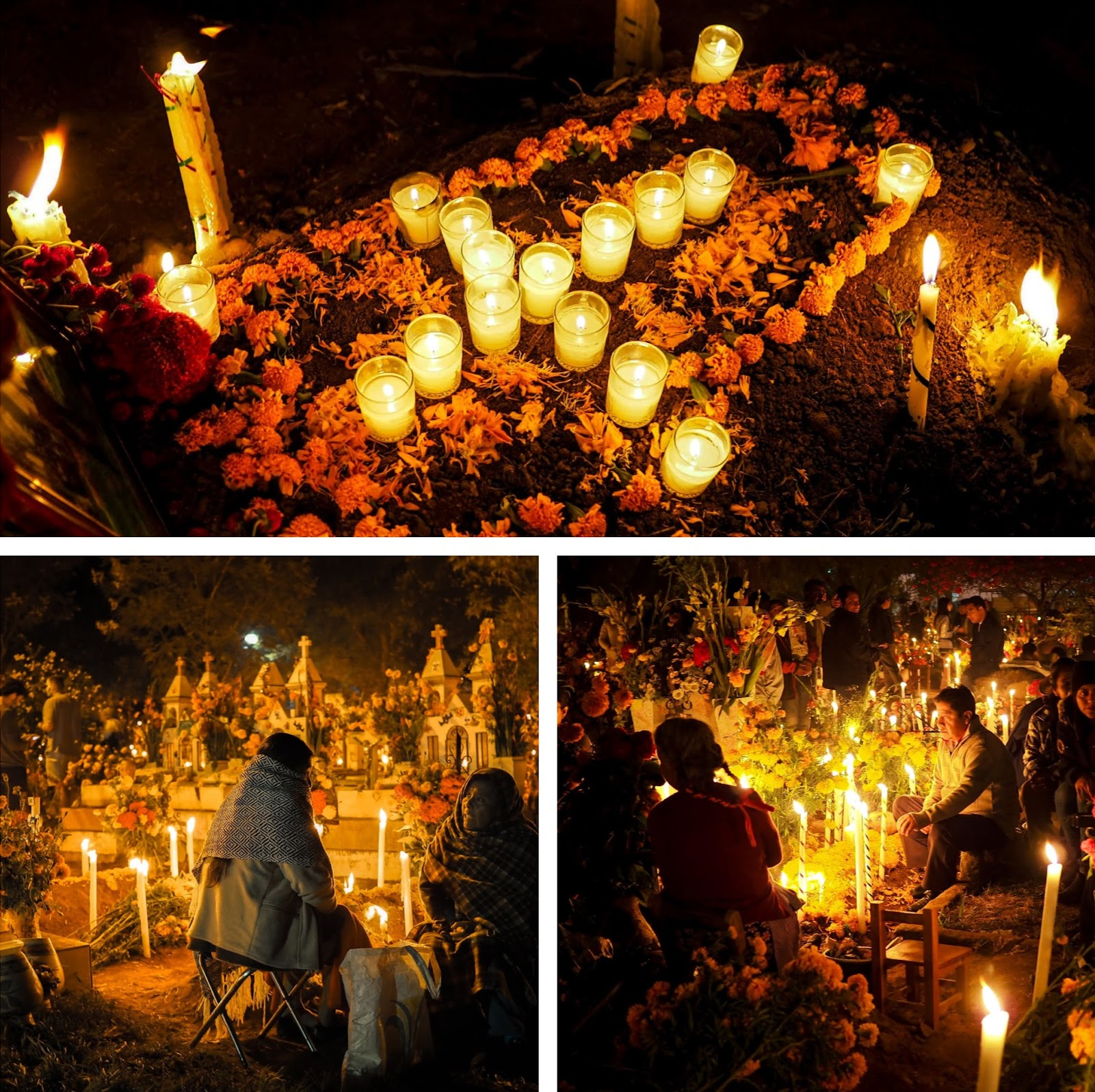 Scenes from Atzompa cemetery