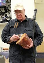 Photo: Thanks, Bob, for donating this box for our Beads of Courage Program, led by Jeff Tate.  Thanks, too, for a large bowl (see Gallery) donated for Turning Works.