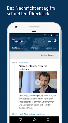 ZDFheute - Nachrichten 2.9 screenshots 1
