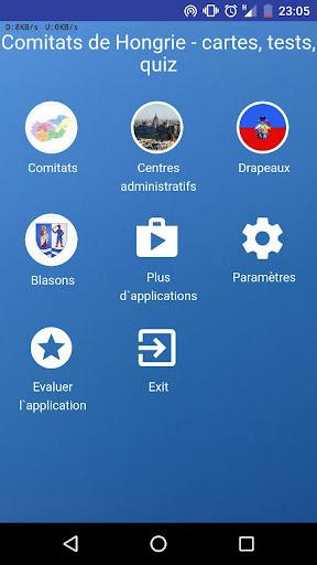 Comitats de Hongrie - quiz,tests,cartes,drapeaux APK MOD (Astuce) screenshots 3