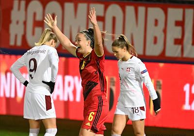 Les Red Flames alignent leur trio d'attaque contre l'Albanie