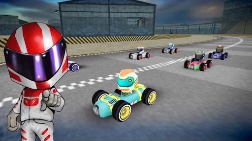 Rush Kart Racing 3D  gameplay | by HackJr.Pw 7