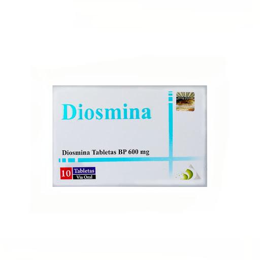 diosmina 600mg 10 tab om pharmaceuticals