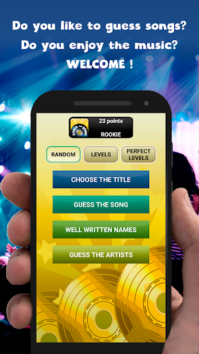 Guess the song - music games free  Wallpaper 5