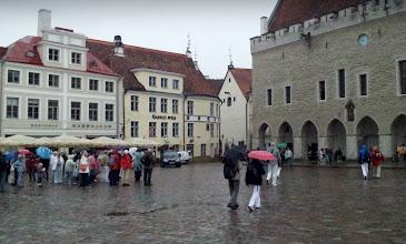 Photo: DULL AND RAINING TALLIN   http://en.wikipedia.org/wiki/Tallinn
