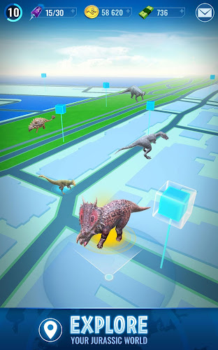 Jurassic World™ Alive Android App Screenshot