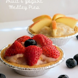 Fruit and Yogurt Medley Pies Recipe