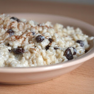 Rice Pudding With Instant Rice.