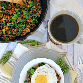 Sweet Potato Breakfast Hash (Paleo, GF + Dairy-Free)