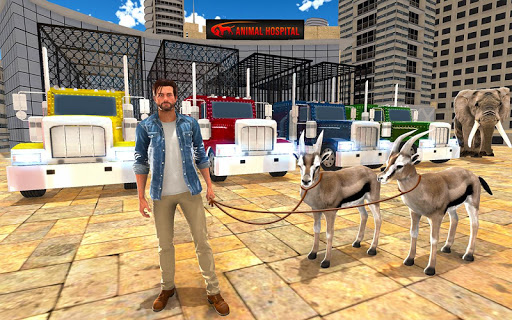 Animal Hospital Transporter Truck Driver Simulator ss3