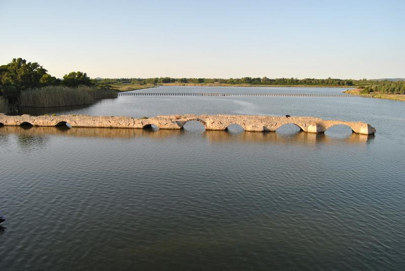 Ponte Romano sul lago di Pretoriano