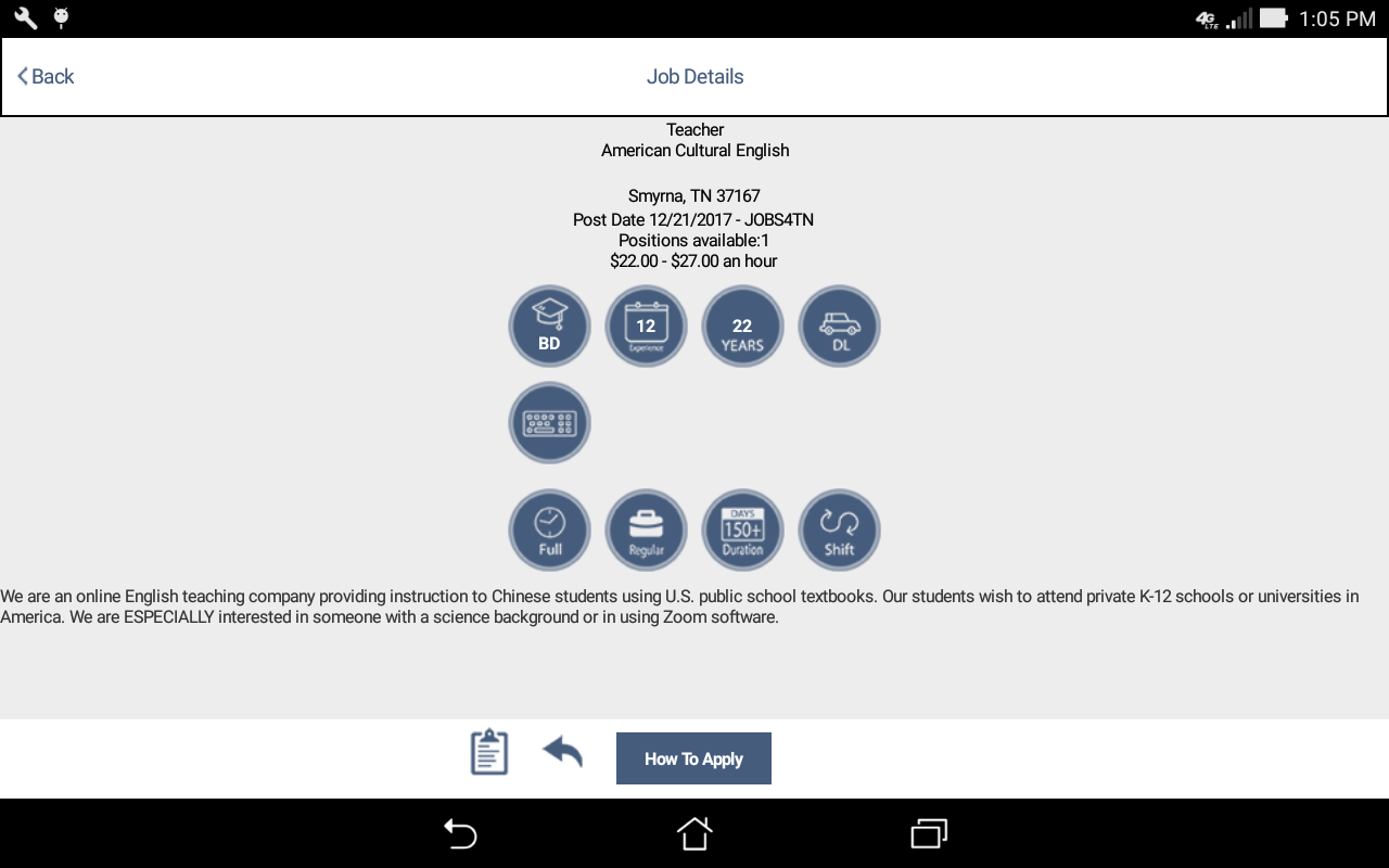 Jobs4tn android apps on google play jobs4tn screenshot xflitez Image collections