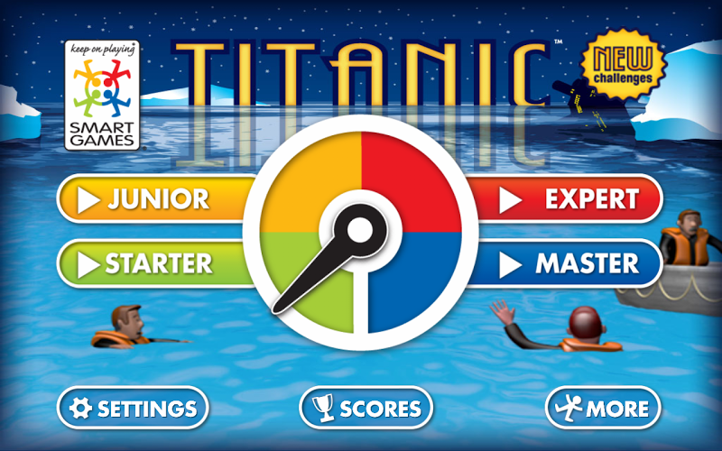 Скриншот Titanic Lite by SmartGames