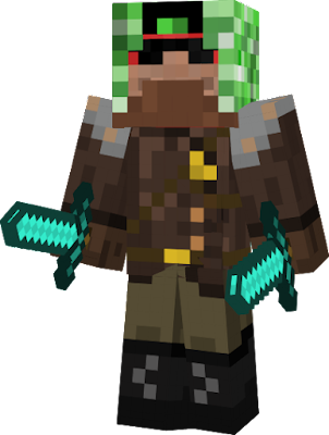 My New Skin My old skin's link: http://minecraft.novaskin.me/skin/4183343024/my-skin Credits: Creeper Hunter Armor Helm by gnaginel , cool suit by ghillieHD,