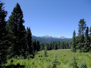 Photo: View of the Truchas Peaks