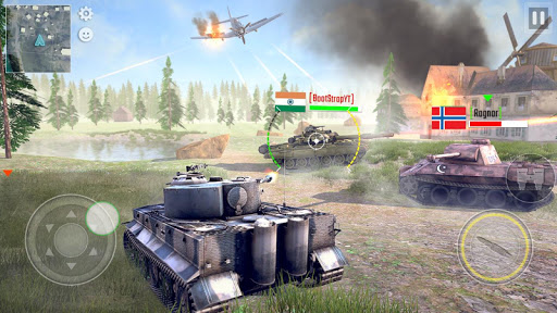 Battleship of Tanks - Tank War Game  screenshots 21