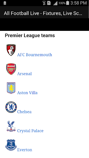 All Football Live - Fixtures, Live Scores, News 1.1 screenshots 6