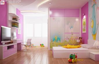 Photo: Phòng ngủ trẻ em (view 2)
