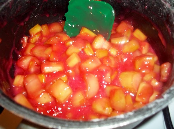 In a saucepan, mix sugar and corn starch. Add the rhubarb, lemon juice and...