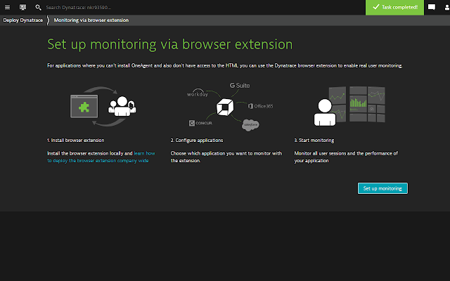 Dynatrace Real User Monitoring