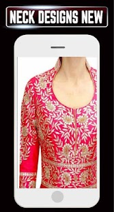 Neck Designs Girls Latest Kurti Collar Idea Design - náhled