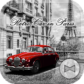Retro Car in Paris +HOME Theme