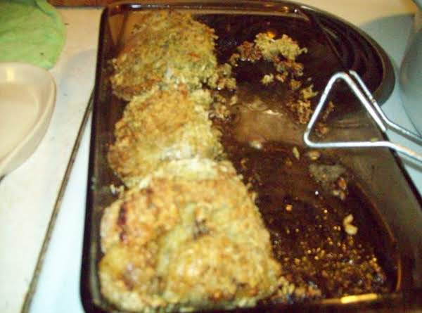 Baked Chicken Thighs With A Swist