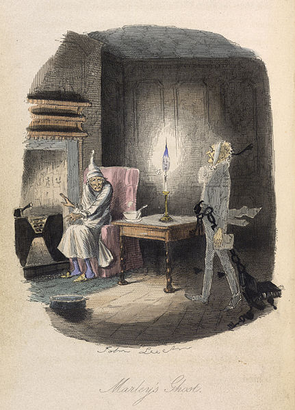 File:Marley's Ghost - A Christmas Carol (1843), opposite 25 - BL.jpg