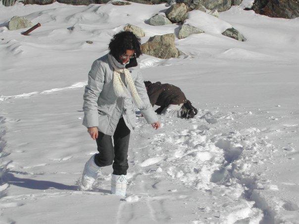 nella neve di enricacasa