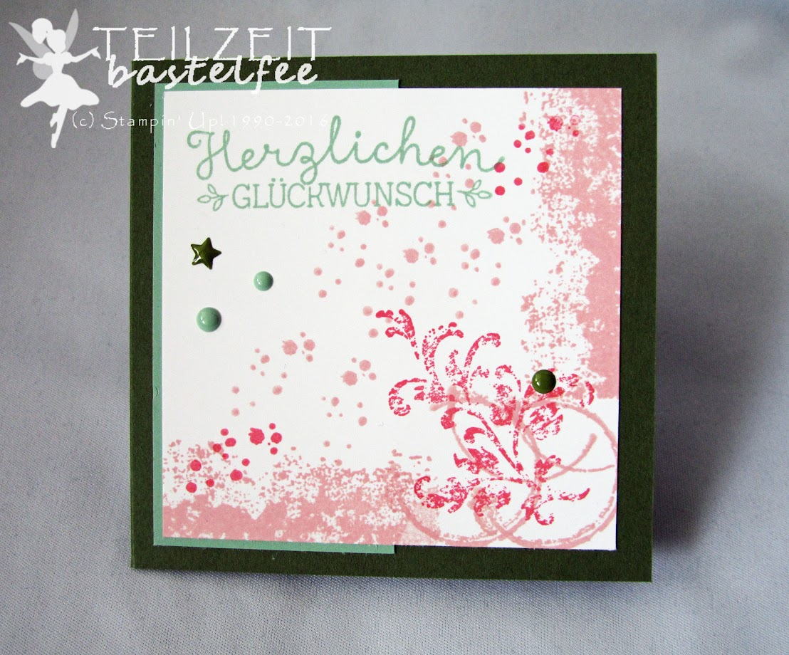 Stampin' Up! – In{k}spire_me #302, Color Challenge, Timeless Textures, InColors, Wunderbare Worte, Suite Sayings