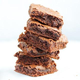 Crispy Top Fudgy Brownies.