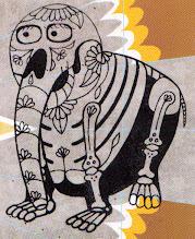 Photo: Wenchkin's Mail Art 366 - Day 118. card 118e