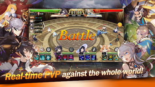 KING's RAID Mod Apk (Unlimited MP + Skill +  God Mode) 6