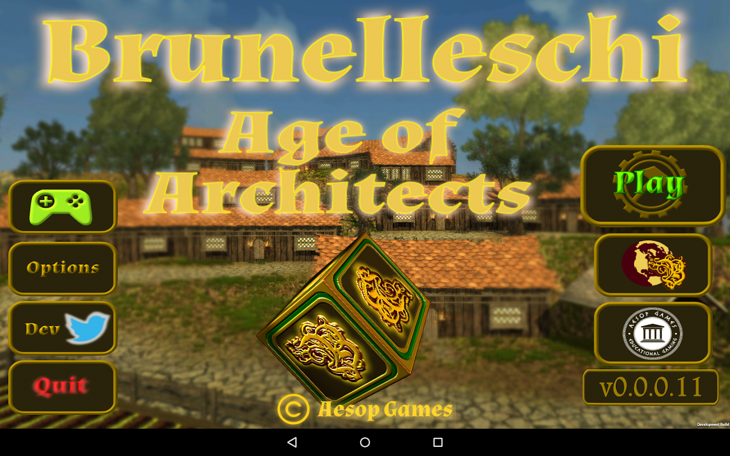 Brunelleschi:Age of Architects- screenshot