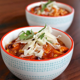 Spicy Mexican Chicken Soup.