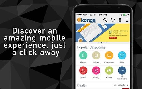Konga Online Marketplace - náhled