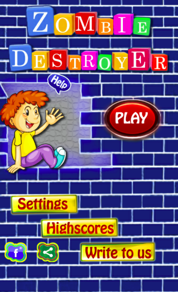 Zombie Destroyer Brick Breaker- screenshot