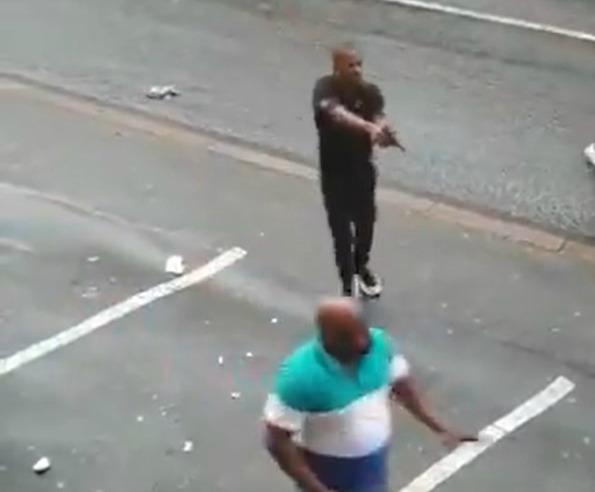 WATCH | Shots fired in Durban brawl - TimesLIVE