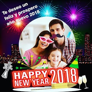 Happy New Year 2018 cards - náhled