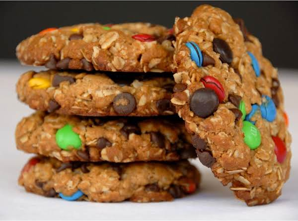 Chewy Gooey Monster Cookies Recipe