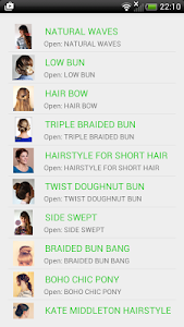 Hairstyles step by step screenshot 14