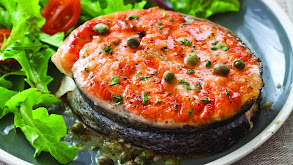 Grilled Salmon and Stuffed Tomatoes thumbnail