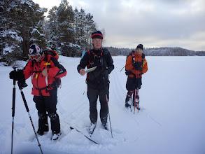 Photo: 009 Gids aan het werk, Kyrksjön