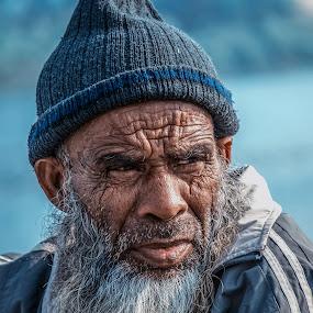 by Shyama Dev - People Portraits of Men