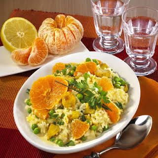 Turkey and Clementine Rice Salad.
