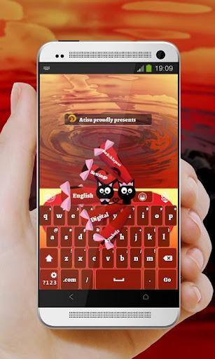 愛バレンタイン GO Keyboard