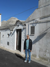 Photo: Me, in front of our trullo guest house