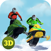 Extreme Moto Bike Snow Racing